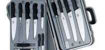 Knivsett fra Victorinox og Global