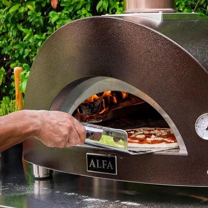 Alfa One vedfyrt pizzaovn