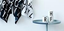 Bokstavkopper – Arne Jacobsen Bokstav Krus