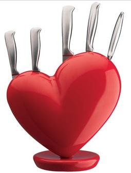 Broaken Heart Knivblokk