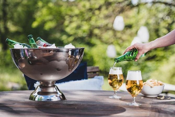 Champagnekjøler til øl
