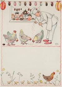 Bakeren og hønene