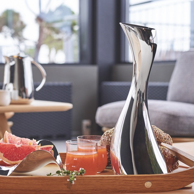 Georg Jensen stainless steel decanter