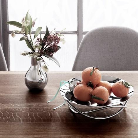 Vase og fat av Maria Berntsen for Georg Jensen
