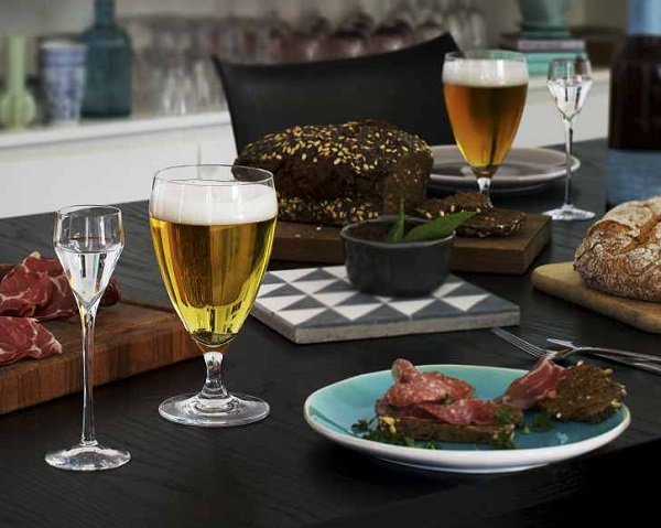 Holmegaard Perfection ølglass