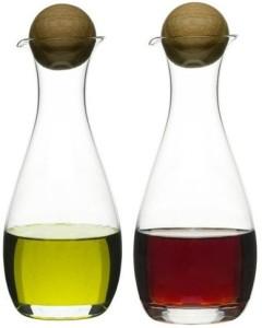 Sagaform Oval Oak Eddik og Oljekarafler