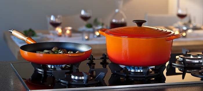 Volcanic Le Creuset Gryte