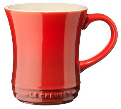 Le Creuset Krus med Formede Sider - Rød