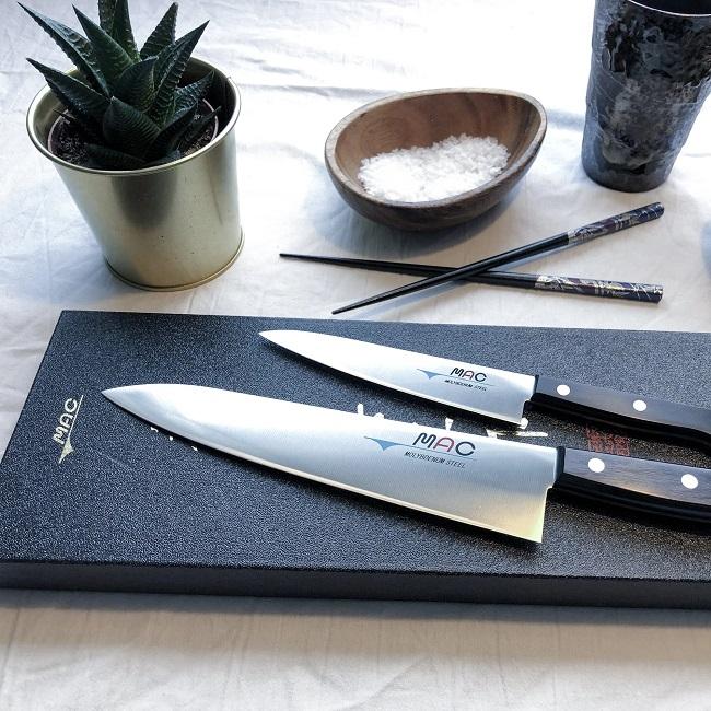Mac knivsett