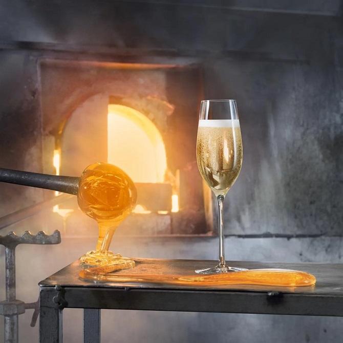 Orrefors Merlot Champagneglass