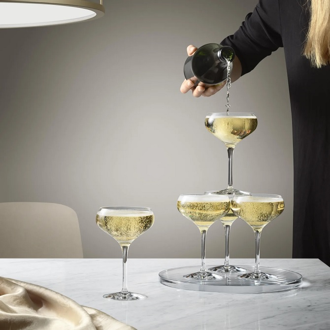 Orrefors More champagneglass