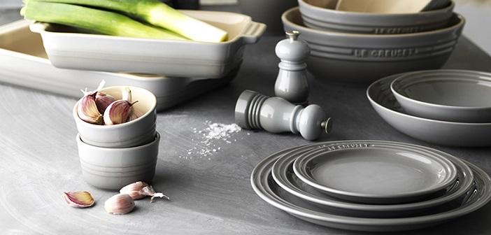 Modernistisk Le Creuset Pastatallerken – Stor Dyp Tallerken DZ-88