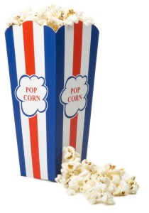 Retro Popcornbeger