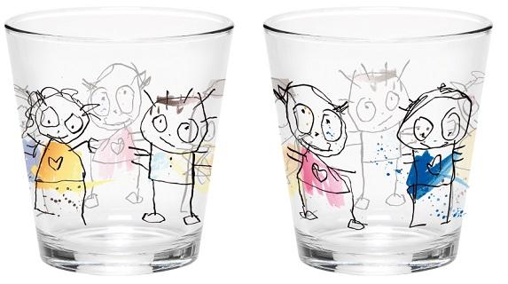 Poul Pava Icons Drikkeglass i Farger
