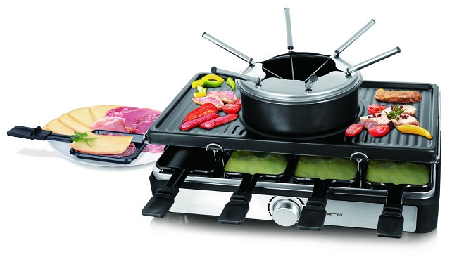 Raclette med fondue