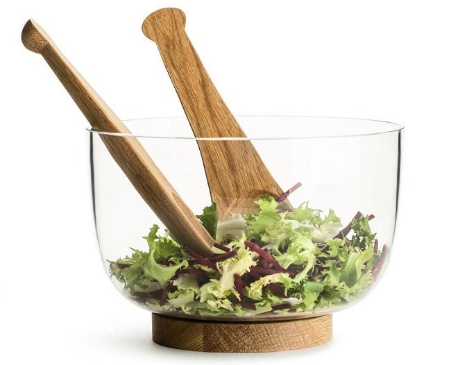 Sagaform Nature Salatbestikk