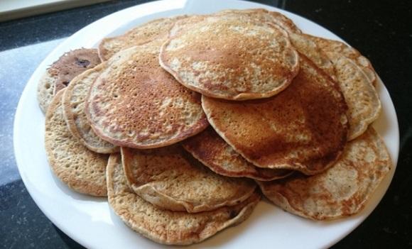 Veganske amerikanske pannekaker