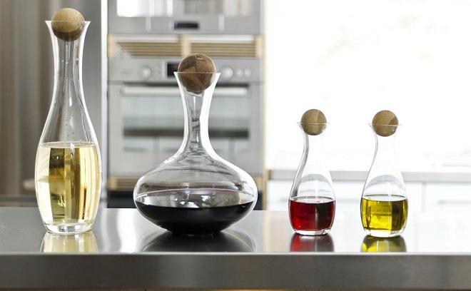 Vin og oljekaraffel - Sagaform
